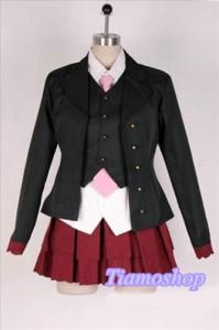 うみねこのなく頃に  ベアトリーチェ 制服 風 ★コスプレ衣装  完全オーダメイドも対応可能 * K3402