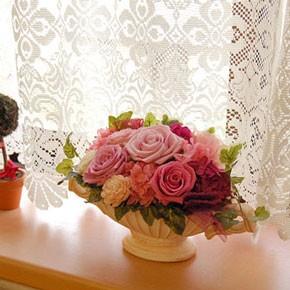 母の日 プリザーブドフラワー 父の日 ギフト 送料無料 フラワーコンポート 誕生日プレゼント 女性 バラ 結婚記念日 還暦祝い 贈答