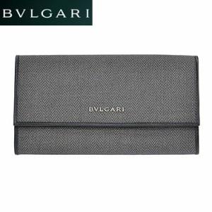 4b2799da2f45 BVLGARI ブルガリ 32585 CANVAS/BLK 長財布 小銭入れ付 /import