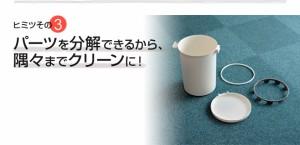 ゴミ箱◆送料無料キャンペーン◆kcud クード ラウンドロック 20L 密閉 ふた付き ごみ箱 生ゴミ 分別 ダストボックス 日本製