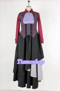 うみねこのなく頃に  右代宮夏妃 風 ★コスプレ衣装  完全オーダメイドも対応可能 * K3401