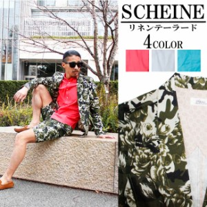 SCHEINE/シャイナ リネンテーラードジャケットの画像