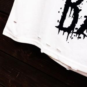 HELLCATPUNKS ダメージ ビッグ Tシャツ