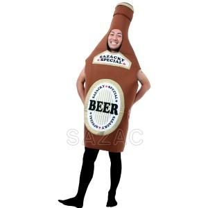 ハロウィン コスプレ 衣装 安い 面白い メンズ レディース 着ぐるみ ビール瓶 ビールビン 男女兼用 仮装 コスチューム