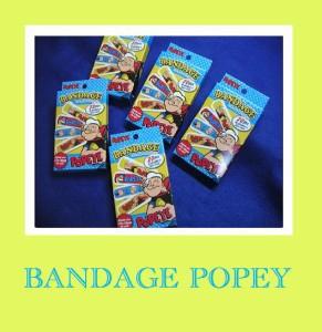 絆創膏/日本製ポパイの可愛い絆創膏