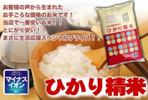 米 10kg 国内産 ブレンド 食品 お米 訳あり ワケありアウトレット ひかり精米10キロ