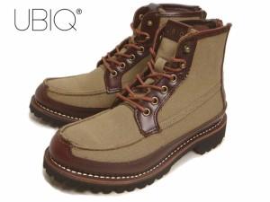 SALE ユービック UBIQ メンズ KRONOS クロノス カーキ 0213106-203 ブーツ