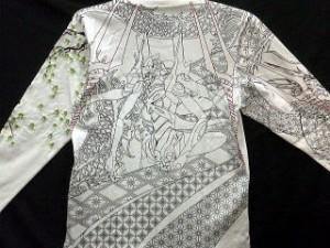 エヴァンゲリオンX錦コラボ 龍桜×13号機 長袖Tシャツ NISHIKI × EVANGELION