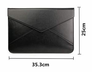 fc148d6e61 パソコンケース Macbook Air/Proケース13-13.3インチ レザー おしゃれ メンズ 封筒型 かわいい シンプル 保護ケース カバー 防水 .