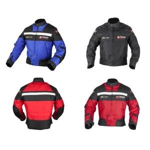 DUHANメンズ 春夏バイクジャケット レーシング服 プロテクター装備 3シーズン バイクウェア 耐磨 防風通気 メッシュ3色