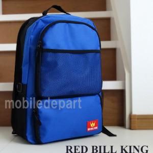 タイムセール RED BILL KING リュック メンズ 通学 高校生 リュックサック 大人 デイパック バックパック 防災バッグ TN-01 青