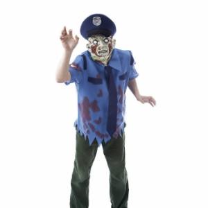 ゾンビコスプレ 警官 警察 ポリス コスプレ 衣装 ポリスゾンビセット メンズ 仮装 ハロウィン イベント パーティー