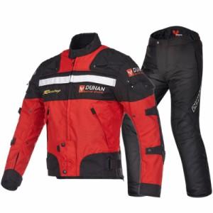 ジャケット バイクジャケット 2点セット  メンズ ライダース  ツーリング オールシーズン  バイクパンツ パンツ  プロテクター 耐磨