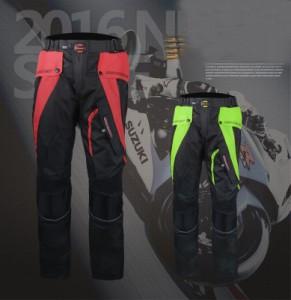 夏専用バイクパンツ バイク服 ロングパンツ メッシュパンツ メンズ 通気 プロテクター装備 ライダースパンツ バイクウェア