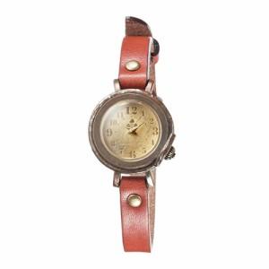 ペアウォッチ セット 時計 刻印無料 セイコー製クォーツムーブメント 栃木レザー Vie WB-013M-013S