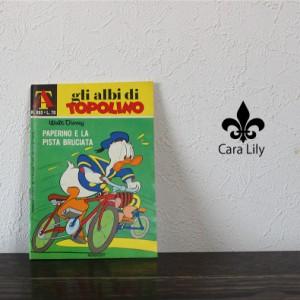 [あす着]アンティーク 1971年 本 漫画 マンガ アニメ ディズニー オブジェ イタリア製 雑貨 ca05