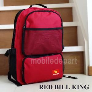 タイムセール RED BILL KING リュック メンズ 通学 高校生 リュックサック 大人 デイパック バックパック 防災バッグ TN-01 赤