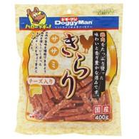 【ドギーマンハヤシ】きらりササミ チーズ入り 400gx24個(ケース販売)の画像