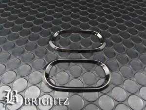 BRIGHTZ キューブキュービック Z11 前期 ブラックメッキサイドマーカーリング Cタイプ【SID-RIN-039】
