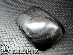 BRIGHTZ スペェシアカスタム MK32S MK42S リアルカーボンドアミラーカバー DタイプMIR−SID−206
