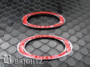BRIGHTZ ケイワークス HN22S 後期 クロームメッキサイドマーカーリング Bタイプ  SID−RIN−050 ウィンカーカバーライトランプリム