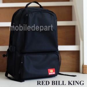 RED BILL KING リュック メンズ 通学 高校生 かわいい おしゃれ 人気 無地 リュックサック 個性的 学生 バックパック 黒