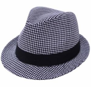 帽子 千鳥柄の商品