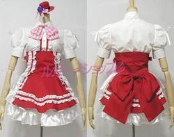 マクロス Flontier 風  ランカ リー 双子座礼服風 コスプレ衣装 cosplay コスチューム
