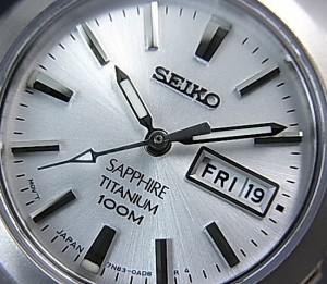 P+8倍 29日9:59迄 SEIKO【セイコー/】軽量チタンモデル ペアウォッチ シルバー文字盤 SGG727P1/SXA111P1 海外モデル