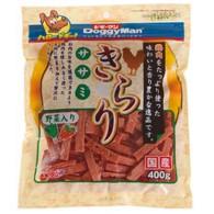 【ドギーマンハヤシ】きらりササミ 野菜入り 400gx24個(ケース販売)の画像