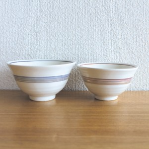 mizuhiki 夫婦茶碗 おしゃれな飯碗のペアセット ギフトボックス入り / お茶碗 / 結婚祝い プレゼント ギフト