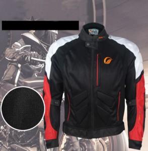 春夏物バイク服 メッシュジャケット メンズ 通気 プロテクター装備 ライダースジャケット バイクウェア