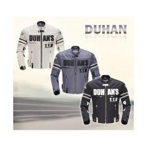 DUHANメンズ 春夏バイクジャケット レーシング服 プロテクター装備 3シーズン バイクウェア 耐磨 防風通気 防水 メッシュ通気2色