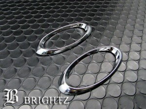 BRIGHTZ MRワゴンWit MF33S クロームメッキサイドマーカーリング Bタイプ  SID−RIN−050 ウィンカーカバーライトランプリムベゼル