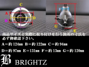 BRIGHTZ レクサス RX350 GGL10W GGL15W GGL16W メッキプロジェクターフォグライト FOG−H−063