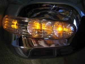 BRIGHTZ エスティマハイブリッド AHR10 LEDウィンカー付メッキドアミラーカバー Sタイプ  MIR−SID−050