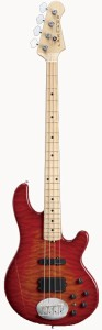 Lakland/Skyline Series ベース SK-4DX Cherry Sunburst / Maple FB 【レイクランド】