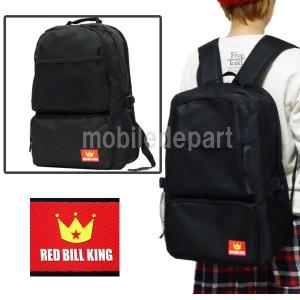 セール RED BILL KING リュック レディース 通学 高校生 かわいい おしゃれ 人気 無地 リュックサック 個性的 学生 バックパック 黒