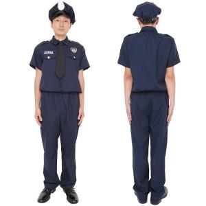 ハロウィン 衣装 男 大人 コスプレ メンズ 警察官 警察 制服 セット 仮装 コスチューム 男性 MENコス アメリカンポリス