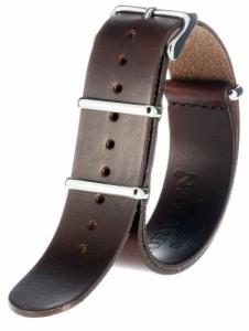 ホーウィン クロムエクセル レザー NATO 本革 時計 ベルト 腕時計 バンド ストラップ 18mm 20mm 22mm