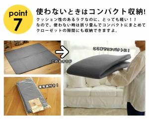 滑り止めシート ふかピタ2 (SUL) ボリュームアップ 防音 約170×230cm ふかぴた