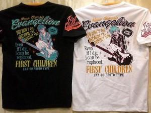 大きいサイズ エヴァンゲリヲンXLOWBLOW KNUCKLEコラボ 半袖Tシャツ 綾波レイ PIN-UP GIRL エヴァ×ローブロー