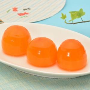 「氷結市田柿」12個【姫玉】(6個入×2)が新発売!送料込&柿のシャーベット☆簡易パックにてお得でお手軽
