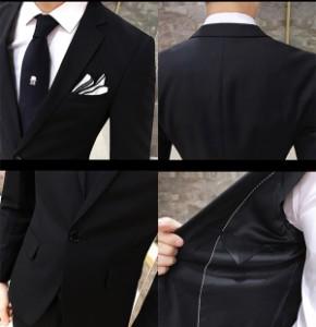 6bdc1139b38eb メンズスーツ 2ピース 紳士服 春夏物 パンツ ピーススーツ セットアップ スーツ メンズ 卒業式 就職活動