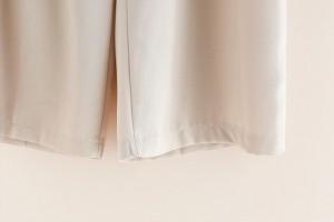 レディース 春夏 ワイドパンツ パンツ ガウチョ 7分丈 ガウチョパンツ ☆ ワイドパンツ ナチュラル パンツ スカンツ 3色