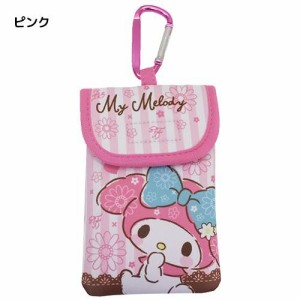 ◆マイメロディ ネオプレーン カラビナポーチ【サンリオ】ピンク(贈り物プレゼント)(K42)サンリオ
