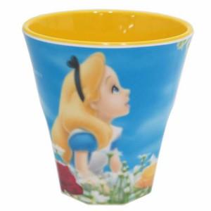 ◆ふしぎの国のアリス メラミンカップ/ネオピクチャー(アニメキャラ)プレゼント、贈り物,キャラクターグッツ通販、(A58)