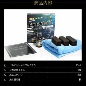 ガラスコーティング剤 ピカピカレイン プレミアム/滑水性・ガラスコーティング・洗車[TOP-PREMIUM]