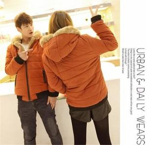 ジャケット  コート ペアルック アウター 上着 お揃いペア 棉服   秋冬防寒 カップル  ペアコート 厚手 男女兼用 大きいサイズ