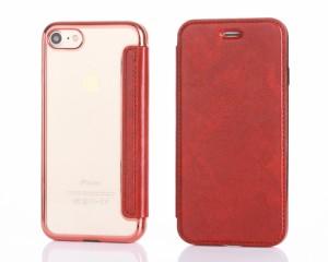 ... iPhone8ケース 手帳型 iphone7ケース おしゃれ手帳 美しいケース ケース クリア デザイン重視 ハード手帳 ...